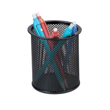 Q-Connect Mesh Pen Pot/Pencil Cup